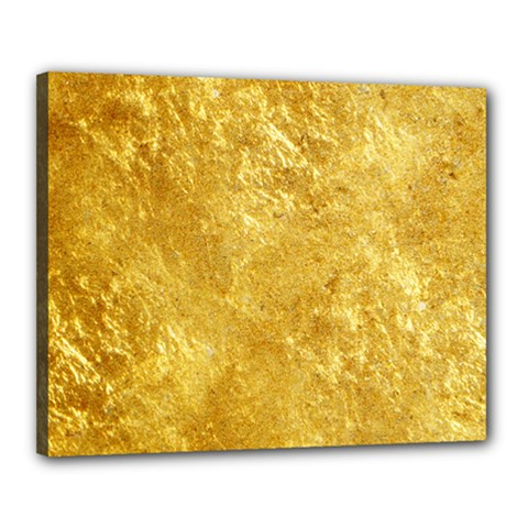GOLD Canvas 20  x 16  by trendistuff