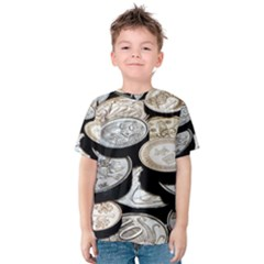 FOREIGN COINS Kid s Cotton Tee by trendistuff