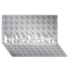 Diamond Plate Engaged 3d Greeting Card (8x4)  by trendistuff