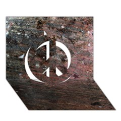 Corrosion 2 Peace Sign 3d Greeting Card (7x5)