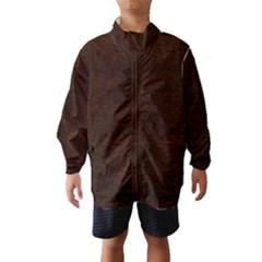 Reddish Brown Fur Wind Breaker (kids)