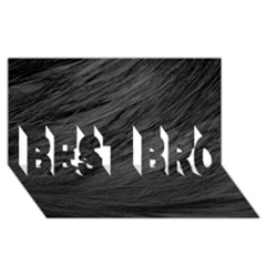 Long Haired Black Cat Fur Best Bro 3d Greeting Card (8x4)  by trendistuff