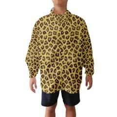 Leopard Fur Wind Breaker (kids)