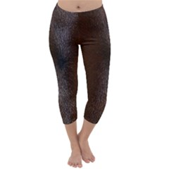 Horse Fur Capri Winter Leggings