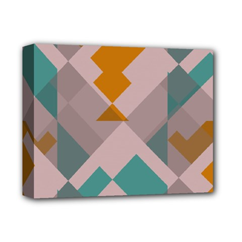 Pieces Deluxe Canvas 14  X 11  (stretched) by LalyLauraFLM