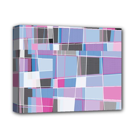 Patches Deluxe Canvas 14  X 11  (stretched) by LalyLauraFLM