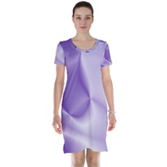 Colors In Motion, Lilac Short Sleeve Nightdresses by MoreColorsinLife