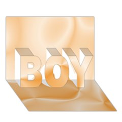 Colors In Motion,peach Boy 3d Greeting Card (7x5)