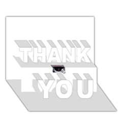 Collage Mousepad Thank You 3d Greeting Card (7x5)  by ramisahki