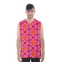 Cute Pretty Elegant Pattern Men s Basketball Tank Top by creativemom