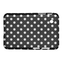 Gray Polka Dots Samsung Galaxy Tab 2 (7 ) P3100 Hardshell Case  View1