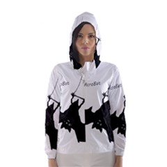 Acrobat Hooded Wind Breaker (Women) by JDDesigns