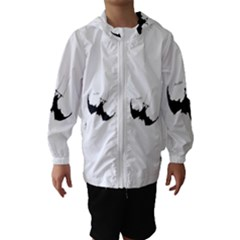 Acrobat Hooded Wind Breaker (kids) by JDDesigns