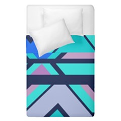 Angles And Stripes  Duvet Cover (single Size) by LalyLauraFLM