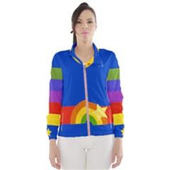 Rainbow Jacket Wind Breaker (women)