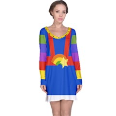 Rainbow Long Sleeve Nightdress