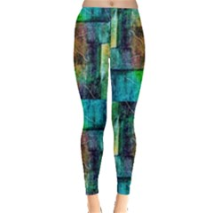 Abstract Square Wall Women s Leggings by Costasonlineshop
