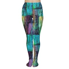 Abstract Square Wall Women s Tights by Costasonlineshop