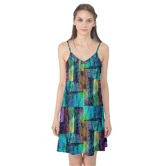 Abstract Square Wall Camis Nightgown by Costasonlineshop