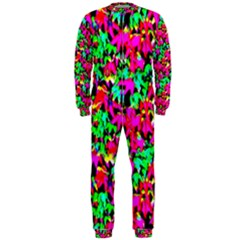 Colorful Leaves Onepiece Jumpsuit (men)  by Costasonlineshop