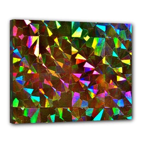 Cool Glitter Pattern Canvas 20  X 16