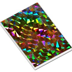Cool Glitter Pattern Large Memo Pads