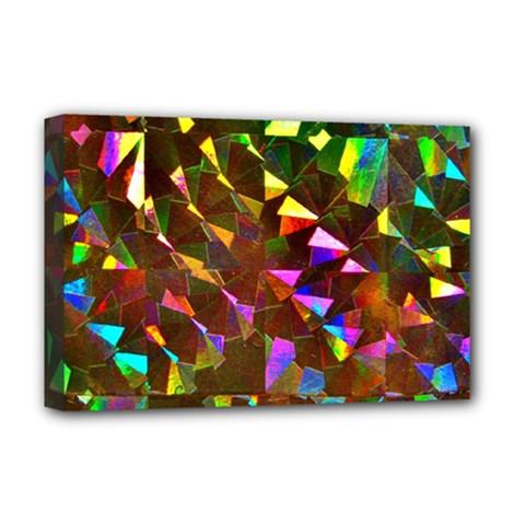 Cool Glitter Pattern Deluxe Canvas 18  X 12   by Costasonlineshop