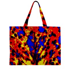Fire Tree Pop Art Zipper Tiny Tote Bags by Costasonlineshop