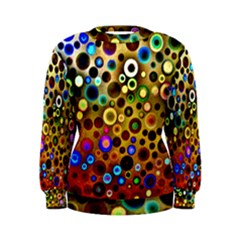 Colourful Circles Pattern Women s Sweatshirts by Costasonlineshop