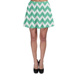 Chevron Pattern Gifts Skater Skirts