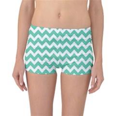 Chevron Pattern Gifts Reversible Boyleg Bikini Bottoms