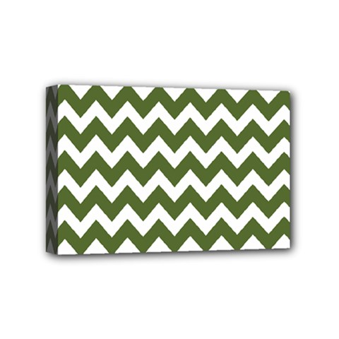 Chevron Pattern Gifts Mini Canvas 6  X 4  by creativemom