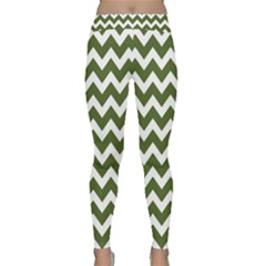 Chevron Pattern Gifts Yoga Leggings