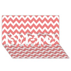 Chevron Pattern Gifts PARTY 3D Greeting Card (8x4)  by creativemom