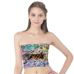 Abstract Background Wall 1 Women s Tube Tops by Costasonlineshop