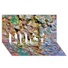 Abstract Background Wallpaper 1 Hugs 3d Greeting Card (8x4)  by Costasonlineshop