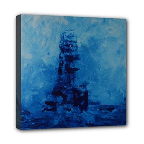Lost At Sea Mini Canvas 8  X 8  by timelessartoncanvas