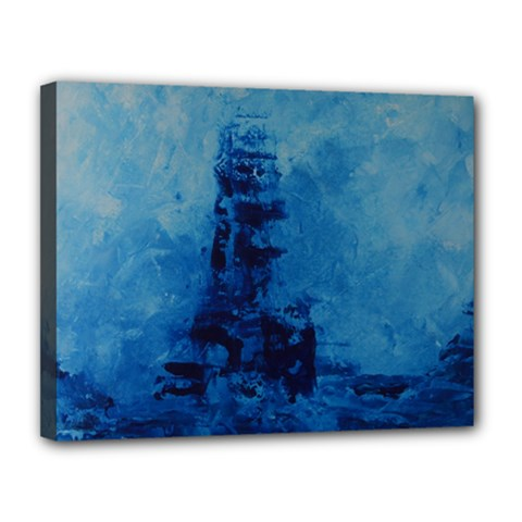 Lost At Sea Canvas 14  X 11  by timelessartoncanvas