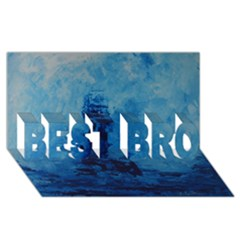Lost At Sea Best Bro 3d Greeting Card (8x4)
