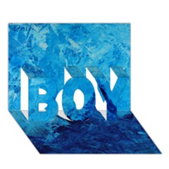 Waves Boy 3d Greeting Card (7x5)