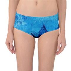 Waves Mid Waist Bikini Bottoms