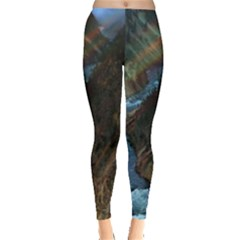 Yellowstone Lower Falls Women s Leggings by trendistuff