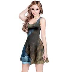YELLOWSTONE LOWER FALLS Reversible Sleeveless Dresses by trendistuff