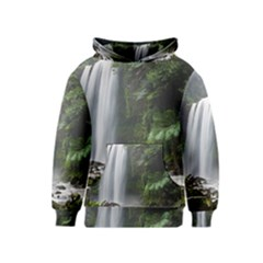 Hopetoun Falls Kid s Pullover Hoodies by trendistuff