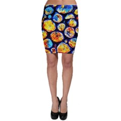 Woodpile Abstract Bodycon Skirts by Costasonlineshop