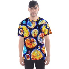 Woodpile Abstract Men s Sport Mesh Tees by Costasonlineshop
