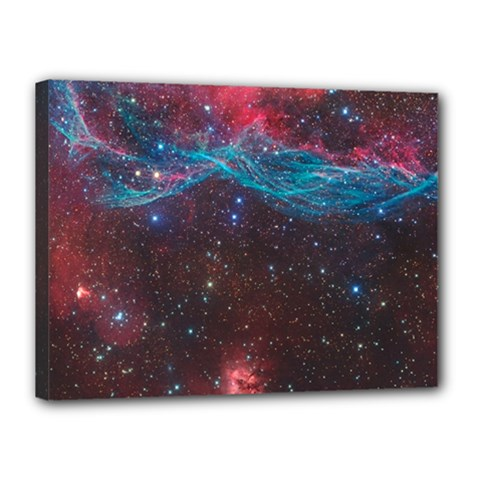 Vela Supernova Canvas 16  X 12