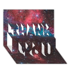 Vela Supernova Thank You 3d Greeting Card (7x5)