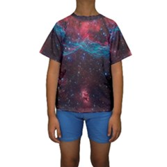 Vela Supernova Kid s Short Sleeve Swimwear