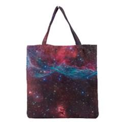 Vela Supernova Grocery Tote Bags